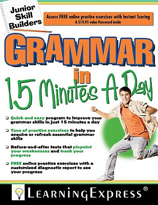 Grammar in 15 Minutes a Day By Learning Express (COR)